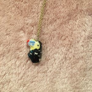 Jewelry - NWOT Gold Toucan Necklace